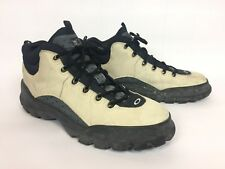 Oakley Nail Skull & Crossbones Tan Leather Hiking Boots Mens Size 17