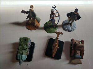 Disney's Atlantis The Lost Empire Mini Figure capsule Toys set of 6