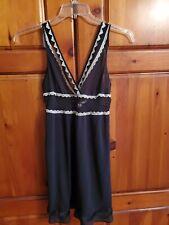 Victoria secret angel Nightgown Black S.
