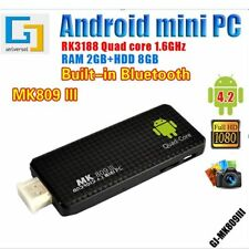 New MK809III Android 5.1 Quad Core Mini PC TV Dongle Stick DLAN WiFi DC Box