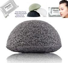 Bamboo Charcoal Organic Mineral Konjac SPONGE -Problem Skin & Collagen Mask