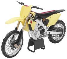 NEW FACTORY SUZUKI RMZ450 TOY REPLICA DIRT BIKE MOTORCYCLE DIRT BIKE TOYS 1:12