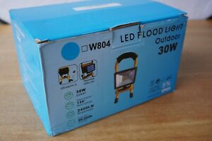 30W LED Cordless Work Site Flood Light Mobile Portable Camping Lamp