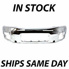 NEW Chrome Front Bumper Face Bar Replacement For 2004-2014 Nissan Titan Armada