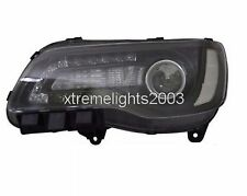 CHRYSLER 300 2015-2016 LEFT DRIVER BLACK HEADLIGHT HEAD LIGHT FRONT LAMP HALOGEN