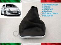 CUFFIA CAMBIO FIAT GRANDE PUNTO - EVO ORIGINALE IN PELLE CON AGGANCI gear boot