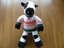 Chick-Fil-A Eat Mor Chikin Plush Cow Doll Ugly Christmas Sweater 2020 Toy
