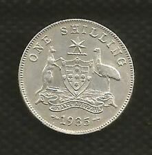 1935 SHILLING - *GEORGE V*- KEY DATE - EXTRA FINE CONDITION