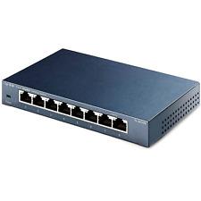 TP-Link TL-SG108 V3 Gigabit  8-Port Desktop Netzwerk Switch bis 1000 MBit/s