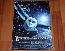 ORIGINAL MOVIE POSTER LEGENDS OF THE GUARDIANS 2010 DUTCH UNFOLDED DS ADVANCE