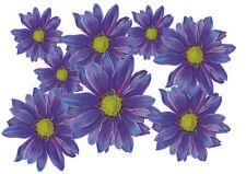 Blumen Aufkleber Flower Power Auto Aufkleber: Flower Set 05-Mini-36 Stück
