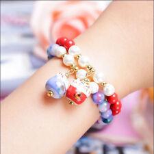 Jewelry Crystal Beaded Natural Stone Lucky Cat Bracelet Lucky Bracelet