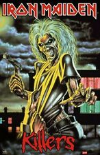 IRON MAIDEN - FAMOUS KILLER POSTER - NEW 24X36