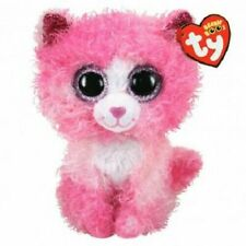 "TY Beanie 6"" Plush REAGAN the Cat"