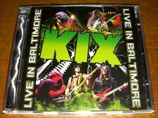 "Kix ""Live In Baltimore""  CD+DVD  -  RARO !!"