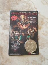 RARE Ps2 gamestop Mortal Kombat Deadly Alliance Commemorative Coin 1 of 10,000