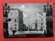 MACERATA Caffè Cavour Corso vecchia cartolina