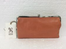 Hobo Bags Genuine Leather Dusty Coral Lauren Clutch Wallet Coin Purse Reg $138