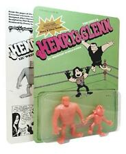 HENRY AND GLENN LIL WRESTLIN PUNKS MINI VINYL TOY FIGURE BY PRETTY IN PLASTIC