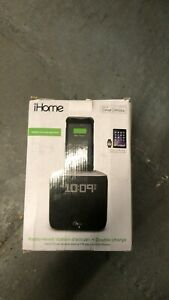iHome Docking Clock Radio + Dual Charging for iPhone & iPod iPL24GC Lightning