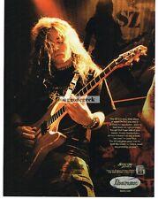2004 IBANEZ SZ Electric Guitar JON DONAIS Shadows Fall Vtg Print Ad