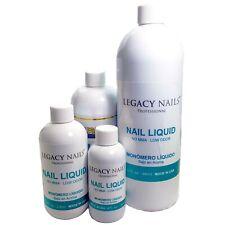 Legacy Nails MONOMER NAIL LIQUID NO MMA 4 fl.oz, 8 fl.oz,16 fl.oz OR 32 fl.oz