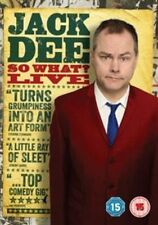 JACK DEE - SO WHAT LIVE - NEW SEALED DVD - STAND UP DVD
