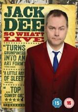 Jack Dee So What Live (DVD, 2013) NEW SEALED Region 2 PAL