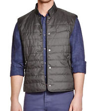 NWT $128 THE MEN'S STORE BLOOMINGDALE'S Insulated Vest Black Sz S