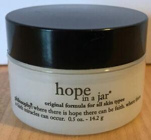 Philosophy Hope in a Jar Moisturizer Size 0.5 oz Travel Size SEALED
