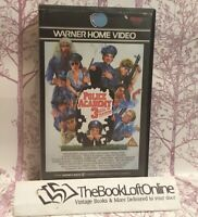 Police Academy 3 - Back In Training VHS Video Tape Big Box Vintage TBLO