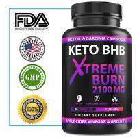 ☀ Best Keto BHB 2100mg Diet Pills Boost Fat Burn Rapid Advanced Weight Loss  Fit