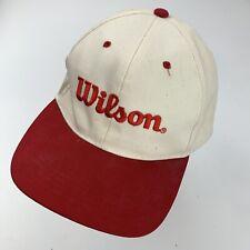 Wilson Brand Ball Cap Hat Adjustable Baseball