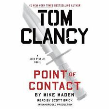 Tom Clancy Point of Contact by Mike Maden (2017, 11 disc, CD)