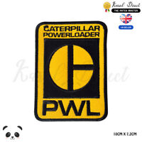 PWL Caterpillar Power Embroidered Iron On Sew On Patch Badge For Clothes etc