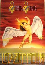 Led Zeppelin 1986 Swan Song Poster
