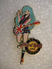 LONDON ,Hard Rock Cafe Pin,SEXY Rock Girl 2013