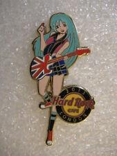 LONDON ,Hard Rock Cafe Pin,SEXY Rock Girl 2013