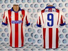 ATLETICO MADRID 2014 2015 #9 MANDZUKIC FOOTBALL SOCCER SHIRT JERSEY CAMISETA XL