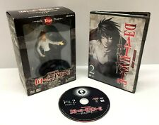 Death Note Vol. 2 Light (DVD, 2007, Limited Edition; Collectible Figurine) MIB