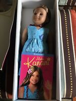 American Girl Kanani  Doll with Box And Book Excellent Used Condition