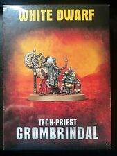 Tech Priest Grombrindal The White Dwarf NEW Limited Edition Warhammer 40k RARE