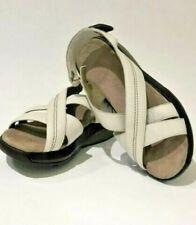 """MBT HABARI BIRCH"" ROCKER, WOMEN'S Sandals/Shoes, SZ 7.5 US, White Leather"