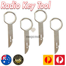 Car Radio Removal Keys Tool stereo pin 4pcs dash repair Kit panel Ford/VW/AUDI