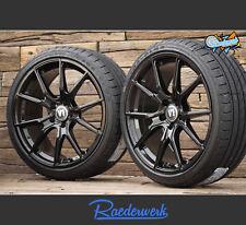 NEU Für VW Tiguan 5N Winterräder 18 Zoll Alufelgen Winterreifen V1 ABE Schwarz
