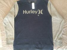 NEW WITH TAG HURLEY OAO Nubby Crew Neck Sweatshirt sizeX Large