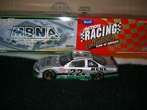 1/24 RCCA nascar 1998 Ward Burton MBNA Platinum 1 of 1500