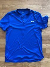 Men's Nike Dri-Fit Running Shirt Size M Medium Navy Blue Athletic Fitness