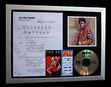 AL GREEN Let's Stay Together LTD TOP QUALITY CD FRAMED DISPLAY+FAST GLOBAL SHIP