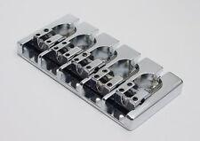 Brand new 5 string Hipshot A style brass chrome bass bridge 0.669 17mm bajo